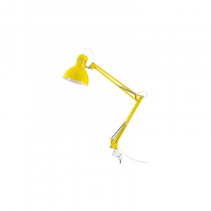 Lampa pentru masa manichiura galben
