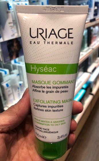 uriage hyseac exfoliating mask