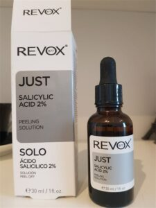 ser acid salicilic revox